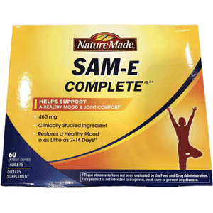 Nature Made Nature Made SAM-e Complete 400 mg - 60 Enteric Tablets