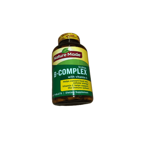 Nature Made Super B-Complex (460 Tablets) - ShelHealth.Com