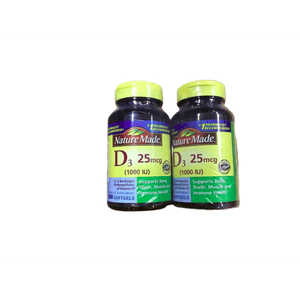 Nature Made Nature Made Vitamin D3 Tablets, 1000 IU, 300 ct.
