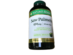 Nature's Bounty Nature's Bounty Saw Palmetto, 400 ct.