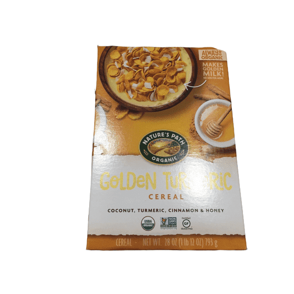 Nature's Path Nature's Path Golden Turmeric Cereal, Healthy, Organic, Gluten-Free, 28 Ounce Box