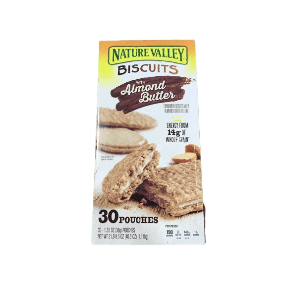 Nature Valley Nature Valley Biscuit Sandwich Almond Butter & Peanut Butter ( 30 ct )