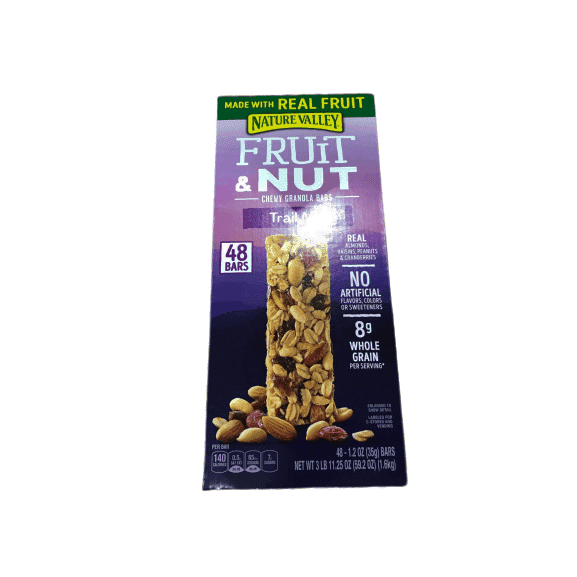 Nature Valley Fruit & Nut Chewy Trail Mix Granola Bars (48 ct.) - ShelHealth.Com