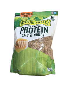 Nature Valley Granola, Protein Oats and Honey, 28 oz