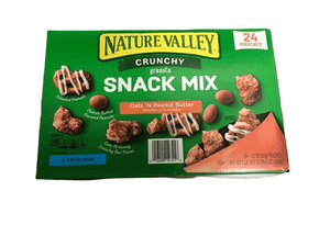 Nature Valley Nature Valley Nature Valley Crunch Granola Snack Mix Oats 'N Peanut Butter, 24 X 1.2 Ounce