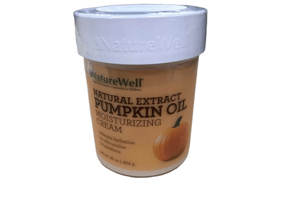 NatureWell NatureWell Pumpkin Oil Nourishing, Moisturizing Cream for Face and Body,16 oz.