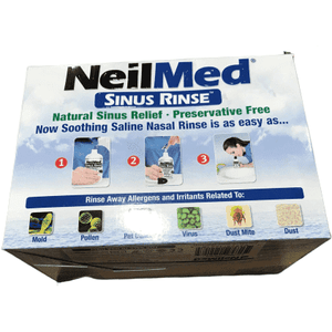 NeilMed NeilMed Sinus Rinse - 2 Bottles - 250 Premixed Packets