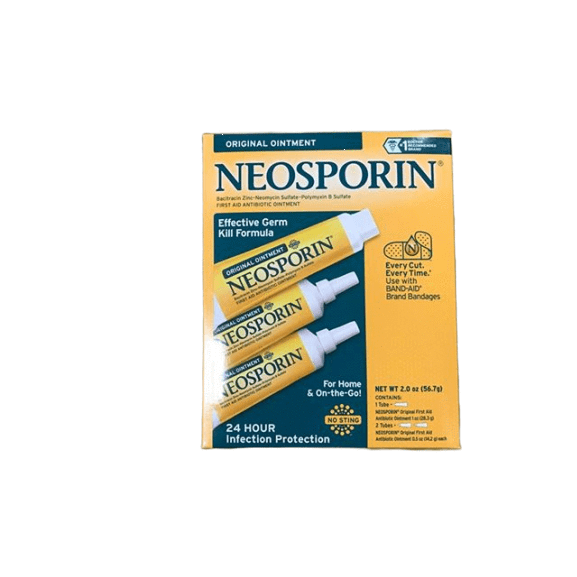 NeoSporin Neosporin Original Ointment For 24-hour Infection Protection, 2 Ounces