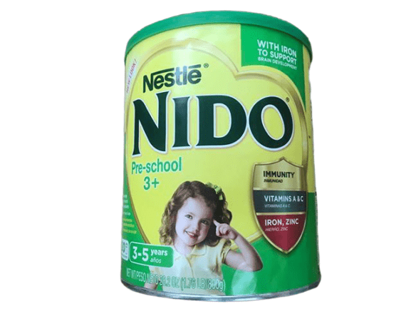 NESTLE NIDO 3+ Powdered Milk Beverage 1.76 lb Canister