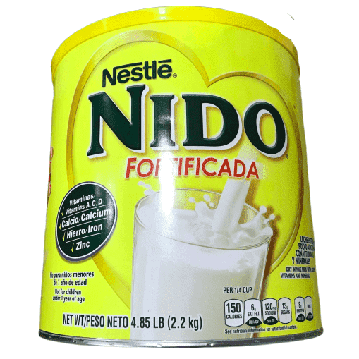 Nestle Nestle Nido Instant Dry Whole Milk Powder, Fortificada, 4.85-Pound Can