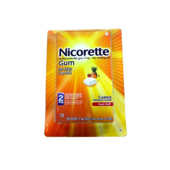 Nicorette Nicorette Gum 2mg 200 pieces (Fruit Chill)