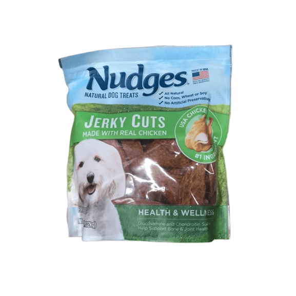 Nudges Nudges Health & Wellness Chicken Jerky Dog Treats, 36 oz.