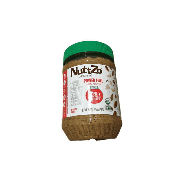 Nuttzo Nuttzo Organic Crunchy 7 Nut And Seed Butter, 26 Ounce
