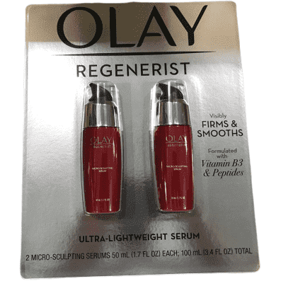 Olay Regenerist Micro-Sculpting Super Ultra-LightWeight Serum 100ml/3.4oz - ShelHealth.Com