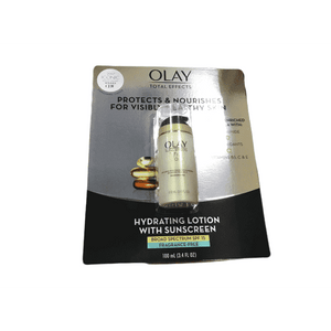 Olay Olay Total Effects Anti-Aging Face Moisturizer with SPF 15, Fragrance-Free 3.4 fl oz