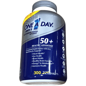 One A Day One A Day Men's 50+ Advantage Multivitamins, 300 Tablets