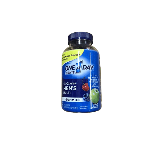 One A Day One A Day Men's VitaCraves Multivitamin Gummies, 230 Count