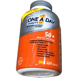 One A Day One A Day Women's 50+ Advantage Multivitamins, 300 Tablets