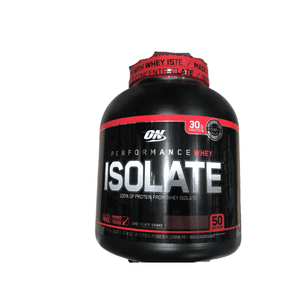 Whey Optimum Nutrition Performance Whey Isolate Protein (30g) Powder, Chocolate, 4.19 Pound