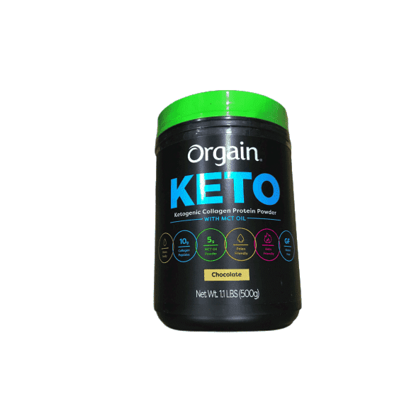 Orgain Orgain Keto Collagen Protein Chocolate, 1.1 lbs