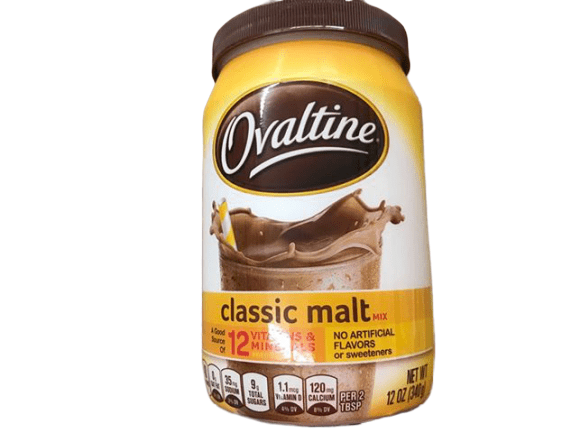 Ovaltine Classic Malt Beverage, 12 Ounce