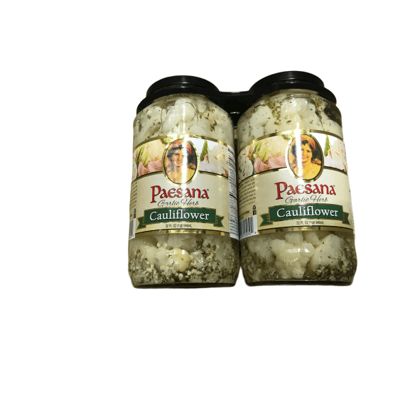 Paesana Paesana Pickled Garlic and Herb Cauliflower 2x 32 oz.