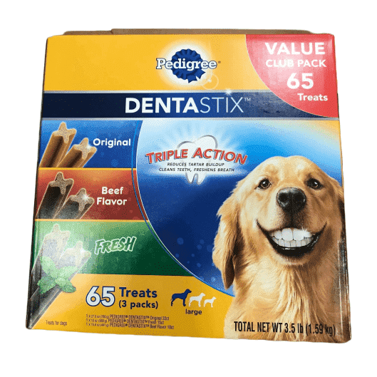 Pedigree Pedigree Dentastix Treats Variety Pack (65Count/ 3.5 Lbs)