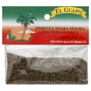 El Guapo Ground Black Pepper, 0.63 oz