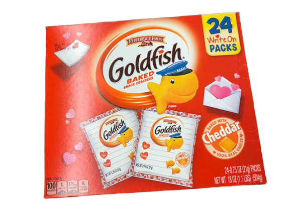 Pepperidge Farm Pepperidge Farm Goldfish Valentine's Day Portion Packs, 24 x 0.75 oz