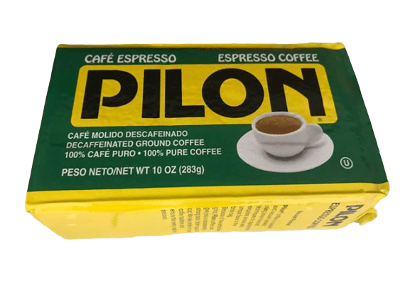 Pilon Pilon Decaf Espresso Coffee, 10 oz