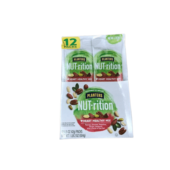 Planters Planters NUT-rition Heart Healthy Mix - 1.5 oz. bags - 12 ct.