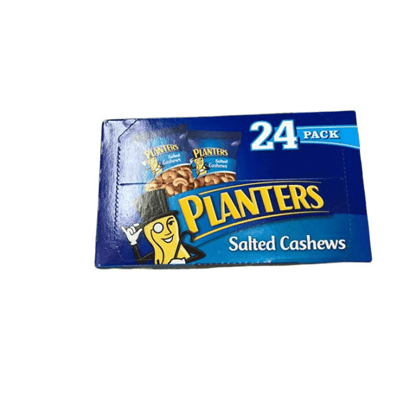 Planters Planters Salted Cashews (1 oz Packet, Pack of 24)