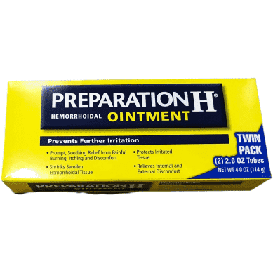 Preparation H Preparation H Hemorrhoidal Ointment - 4 oz TOTAL (2 oz x 2 tubes)
