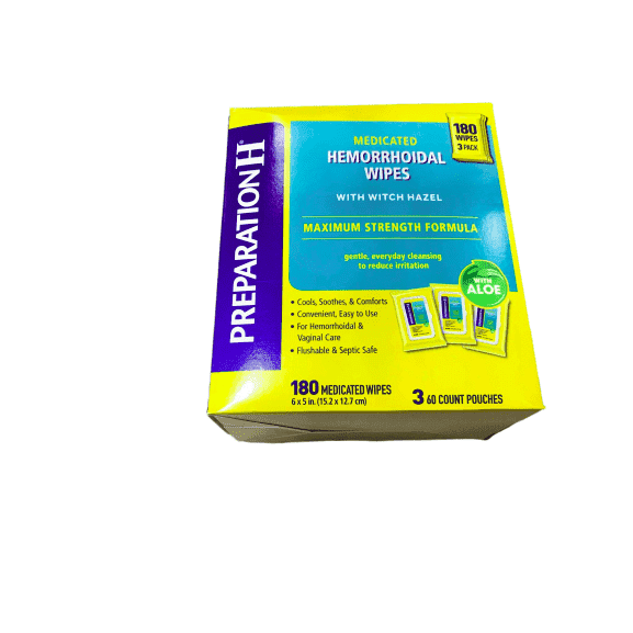 Preparation H Preparation H Medicated Wipes - 180 Count