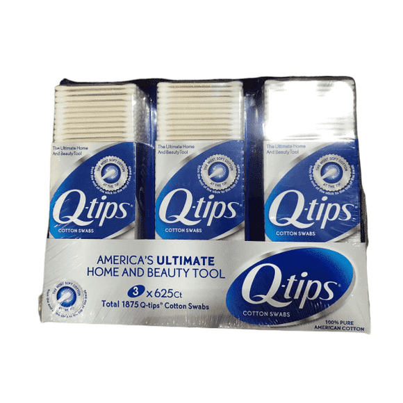 Q-Tips Cotton Swabs - 1875 Count - ShelHealth.Com