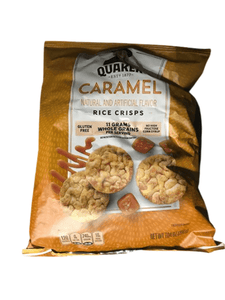 Quaker Caramel Rice Crisps, 7 oz. - ShelHealth.Com