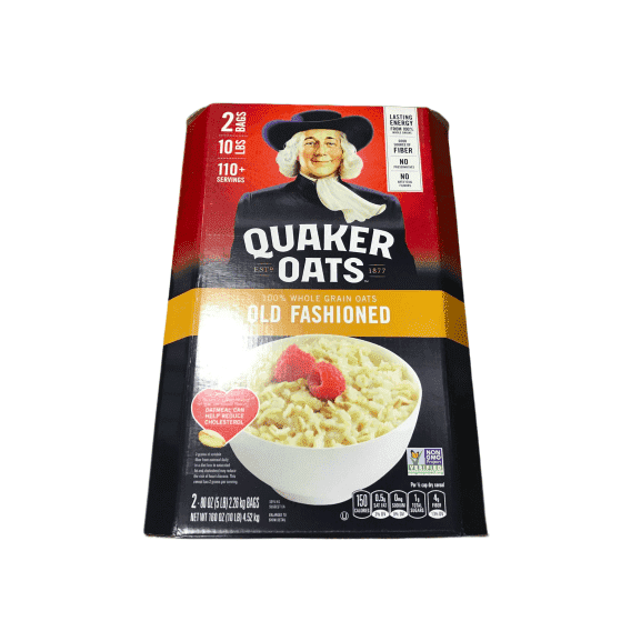 Quaker Quaker Old Fashioned Oatmeal, 10 Pound