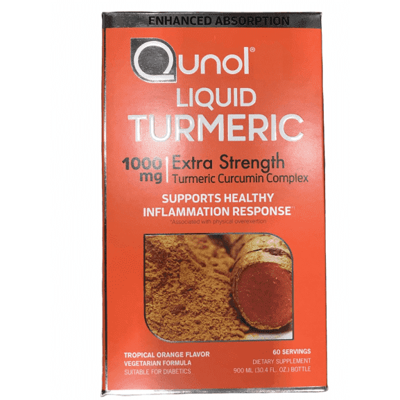 Qunol Qunol Liquid Turmeric,  60 Servings