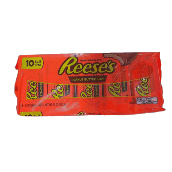 Reese's Peanut Butter Cup, 1.5 oz Packages (Pack of 10) - ShelHealth.Com