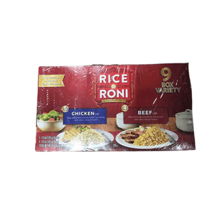 Rice A Roni Rice A Roni Chicken and Beef Variety Pack, 9 pk./7 oz.