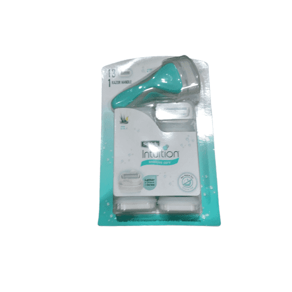 Schick Intuition Razor + 13 Cartridges - ShelHealth.Com