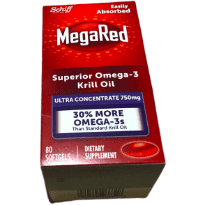 Schiff Schiff MegaRed Krill Oil High Concentration 750mg 80 Softgels