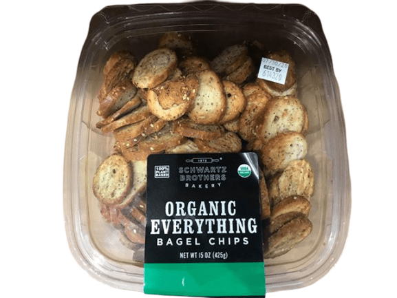 Schwartz Bros Schwartz Bros Organic Everything Bagel Chips, 15 oz