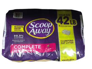 Scoop Away Scoop Away Complete Performance Clumping Cat Litter, 42 lbs.