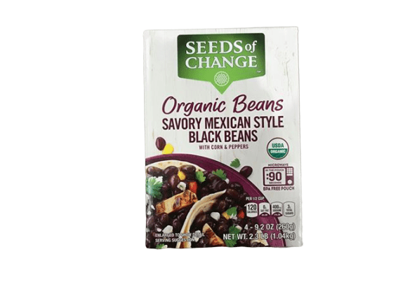 Seeds Of Change Seeds Of Change Organic Mexican Black Beans, 4 x 9.2 Oz