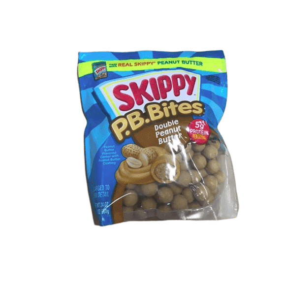 Skippy Skippy PB Bites - Double Peanut Butter, 24 ounces