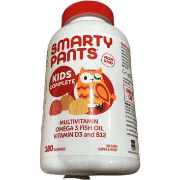 SmartyPants Children's All-in-One Multivitamin, 180ct - ShelHealth.Com