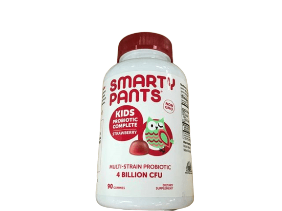 SmartyPants Kids Probiotic Complete, Strawberry , 90 Count - ShelHealth.Com