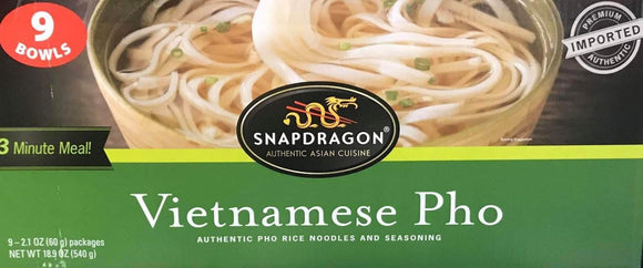Snapdragon Snapdragon vietnamese Pho Bowls, 18.9 Ounce ( Pack of 9 Bowls )