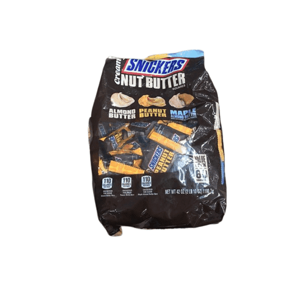 Snickers Creamy Nut Butter Squares Value Pack, 60 ct. - ShelHealth.Com